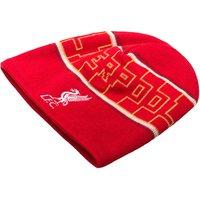 Liverpool Kop Fleece Beanie Red