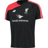 Liverpool Training Top Black