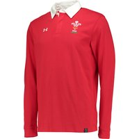 Wales Rugby Long Sleeve Jersey Red