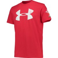 Wales Rugby Graphic T-Shirt 2 15/16 Red