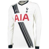 Tottenham Hotspur Home Shirt 2015/16 - Long Sleeve White