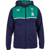 Ireland Rugby Training Full Zip Hoody Navy