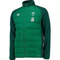 Ireland Rugby Presentation Jacket Green