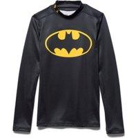 Under Armour Batman Alter Ego Coldgear Mock Baselayer Top - Kids Black