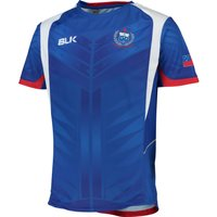 Samoa Rugby Training Tee Royal Blue