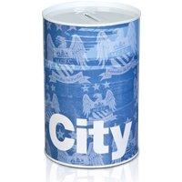 Manchester City Tin Money box