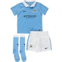 Manchester City Home Kit 2015/16 - Little Kids Sky Blue