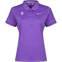 Manchester United Nike Golf Polo - Womens Pink