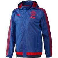 Manchester United Training All Weather Jacket Royal Blue