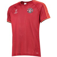 Manchester United UCL Training Jersey Red