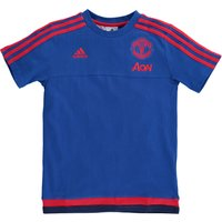 Manchester United Training T-Shirt - Kids Royal Blue