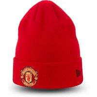 Manchester United New Era Basic Cuff Hat - Red - Adult