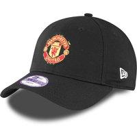 Manchester United New Era Basic 9FORTY Adjustable Cap - Black - Kids