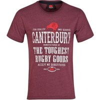Canterbury Rugby Goods T-Shirt Red