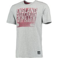 England Swing Low Graphic T-Shirt Lt Grey