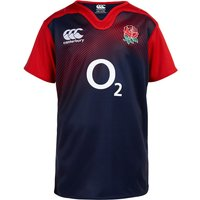 England Rugby Training Short Sleeve Pro Rugby Top - Kids Navy