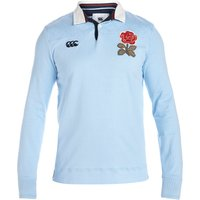 England Rugby 1871 Long Sleeve Loop Collar Rugby Jersey Sky Blue