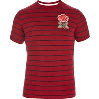 England Rugby 1871 Rose Stripe T-Shirt