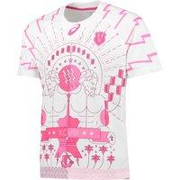 Stade Francais Third Shirt Short Sleeve 2015/16 White