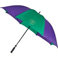 Wimbledon Large Golf Umbrella With Fibre-Glass Shaft Purple