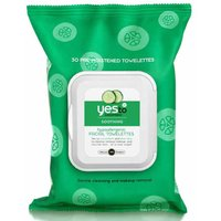 Yes To Cucumbers - Soothing Hypo-allergenic Face Wipes - 30 pack