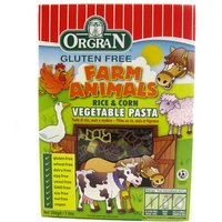 Orgran Rice & Corn Animal Pasta Shapes - 200g