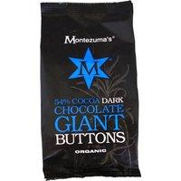 Montezumas Organic 54% Dark Giant Buttons 180g