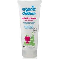 Green People Childrens Bath & Shower Gel - Berry Smoothie - 200ml