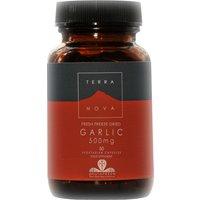 Terranova Vegan Garlic Supplement 500mg - 50 Capsules