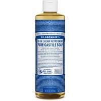 Dr Bronner Organic Peppermint Castile Liquid Soap - 473ml