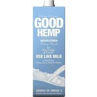 Good Hemp Dairy Free Milk Drink - Unsweetened - 1L