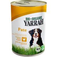 Yarrah Organic Dog Food - Chicken Pate With Spirulina & Seaweed 400g