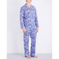 Modern Jungle cotton pyjama set