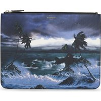 Hawaii large leather pouch