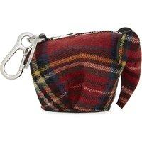 Tartan wool Elephant coin purse
