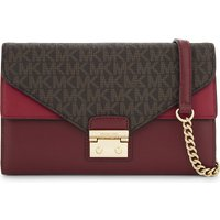 Sloan large leather wallet-on-chain