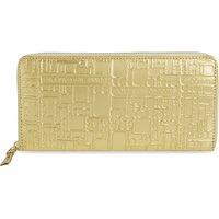 Embossed purse
