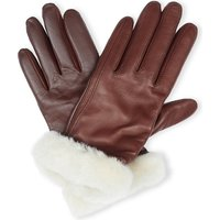 Lea smart leather gloves