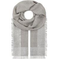 Argent Wrap cashmere scarf