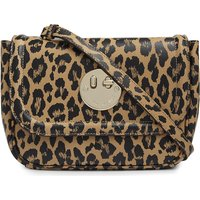Leopard-printed Happy Bag