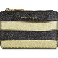 Glittered stripe coin purse