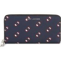Monogram Scream leather wallet