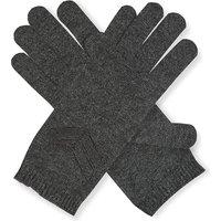 Precious Stripes cashmere gloves