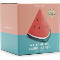 Sunnylife Watermelon candle, Size: 1 Size, Red