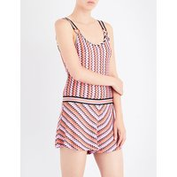 Missoni knitted playsuit