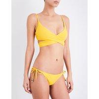 Timeless Basics wrap bikini top