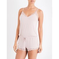 Seductive Comfort jersey playsuit