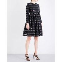 Sandra sequin-embellished tulle dress