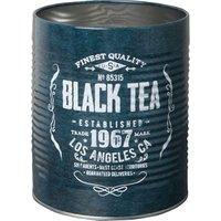 NONE Black Tea canister tin