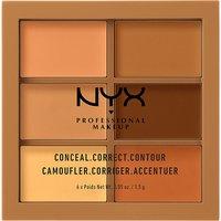 Nyx Cosmetics Conceal, Correct, Contour Palette, Women's, Deep